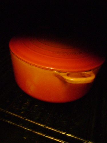 Le Cruset in the Oven