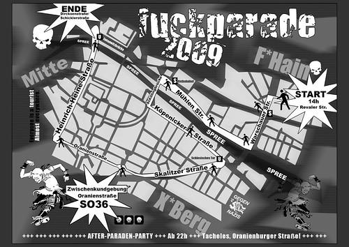 FUCKPARADE 2009 .Route.