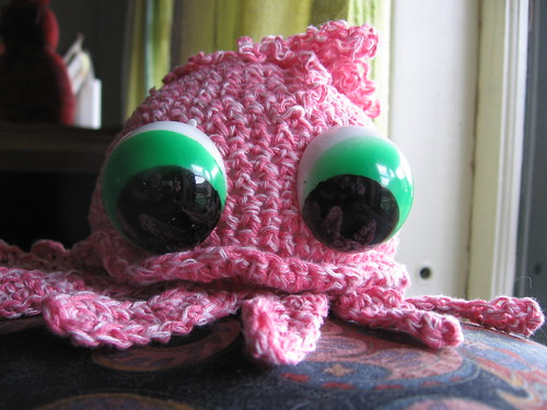 jellyfish crochet creature