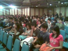 KK students at seminar