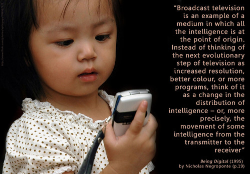 moving intelligence through media