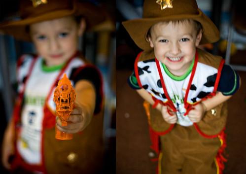 our lil' cowboy