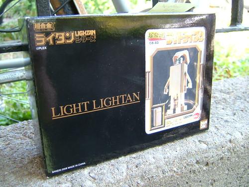 light lightan chogokin