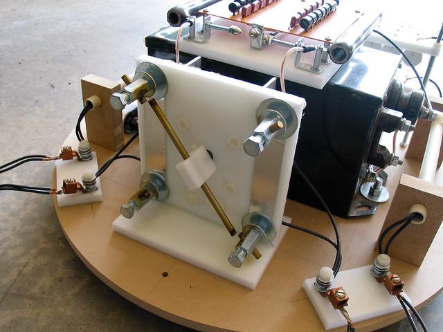 Synchronous rotary spark-gap