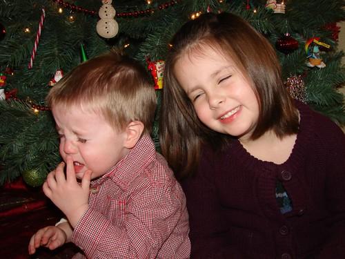 Christmas shots take 1 - really mad Ben
