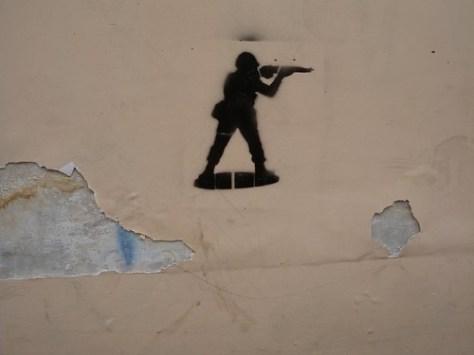 Soldier stencil