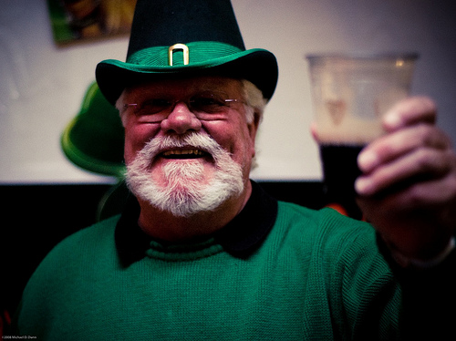 Dad on St. Patrick's Day