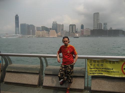 Antiguo Aeropuerto Internacional Kai Tak de Hong Kong.