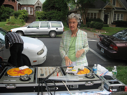 Is YOUR mom a DJ? I didnt think so...