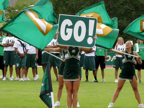 The 2008 Charlotte 49ers Cheerleading Squad by you.