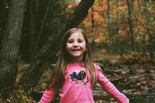 In the Adirondacks - Emma