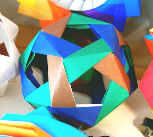 Open Faced Dodecahedron