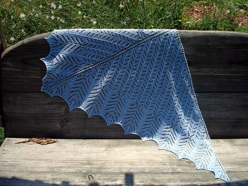 Wow! This shawl is gorgeous!
