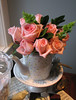 tea roses by saucy dragonfly