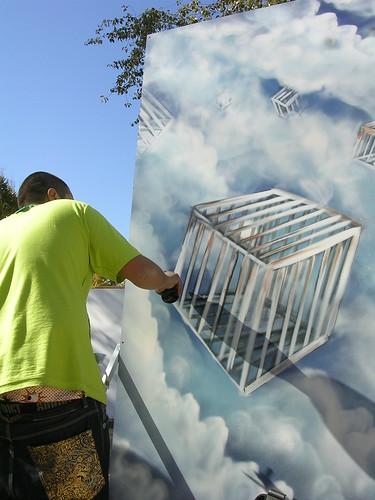 Enjaulados. Grafiti 43