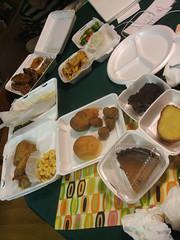 Soul food spread