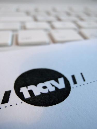 NAV-logo på brevark
