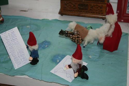 Christmas eve diorama
