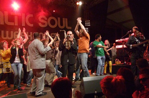 Fatback Band at Baltic Soul Weekender