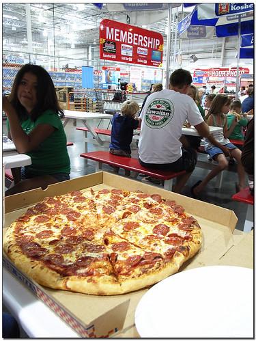 adai's blog: [食記]COSTCO 起士披薩、牛肉捲 CheesePizza