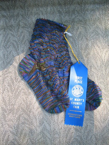 Blue Ribbon Socks