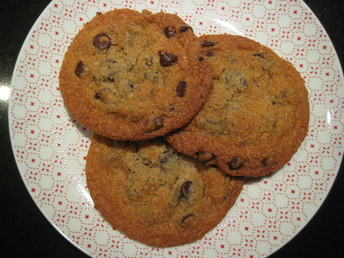 wholemeal chocolate chip cookies