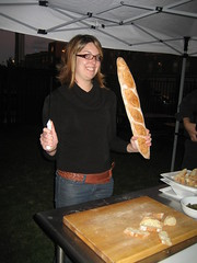 Erin likes bread and knives!