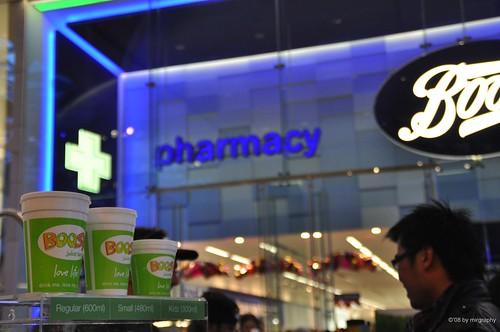 Boost Juice in London