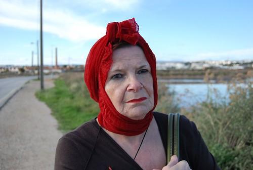 scarlet head II