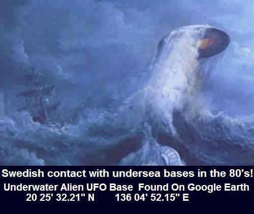 VIDEO - Norway Undersea UFO Base