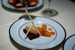 Dessert: Sablée Praliné aux Coings