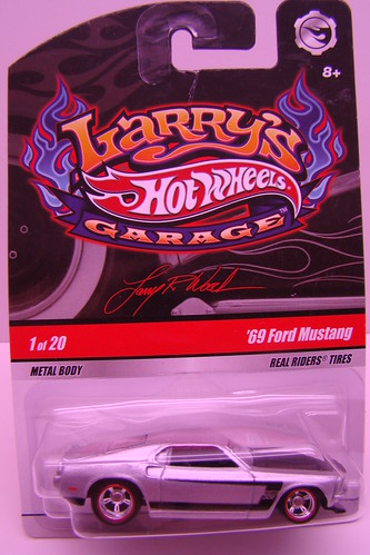 Larry Woods Garage 1969 Ford Mustang