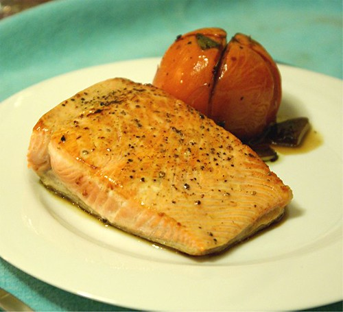 salmon and roasted tomato 2