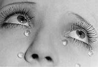 Man Ray. Les larmes, 1936.