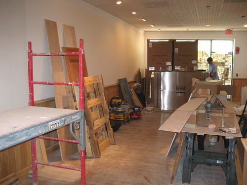 Our construction site to be coffee shop