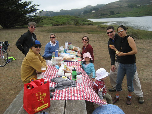Anniversary picnic at Rodeo Lagoon