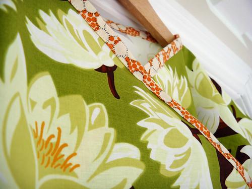 Water Lily Kimono - detail