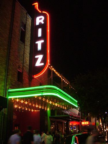 The Alamo Ritz on Sixth Street in downtown Austin, Texas.  Image taken from Flickr.