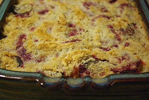 potato beet gratin