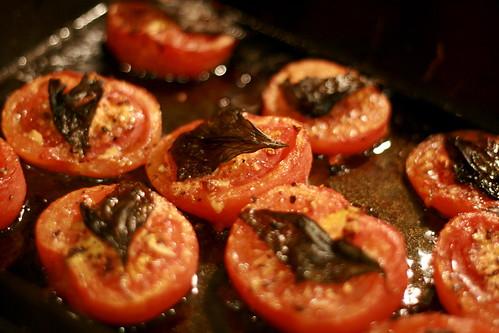 roasted tomatoes © kirsten
