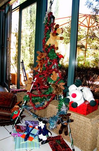 Tripod Christmas tree