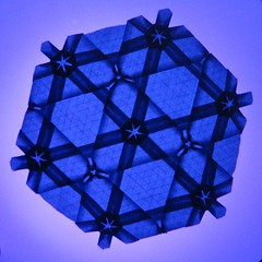 SeerosenTessellationblau