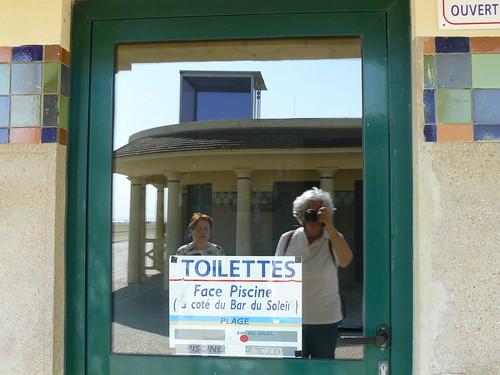 Toilettes fermées