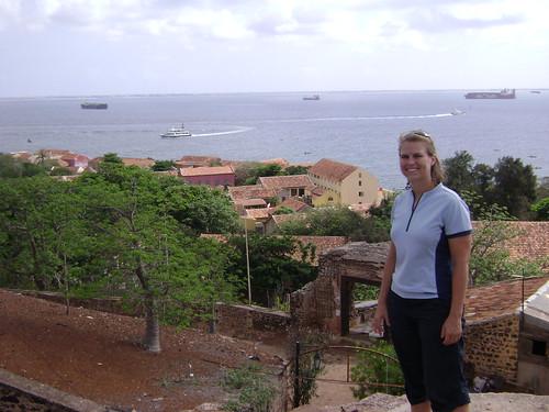 Goree Island view