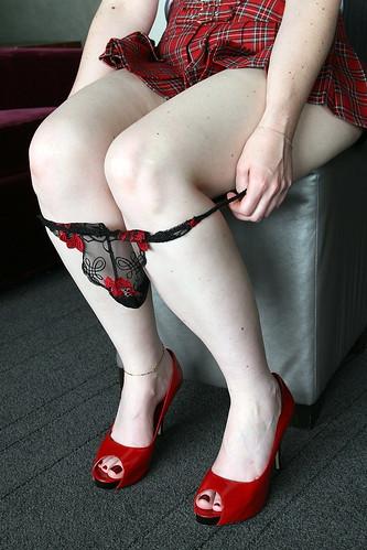 schoolgirl undressing