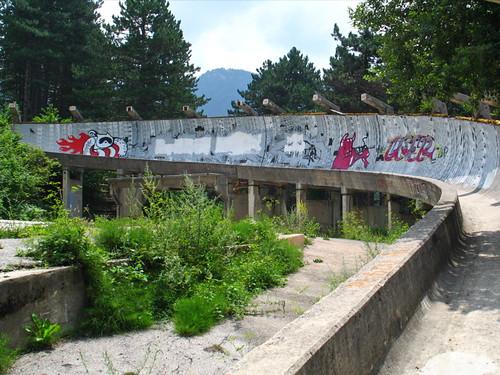Olimpic Bobsleigh Track Sarajevo 84