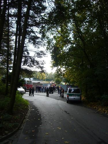 """Gäste-Eingang zum Stadion """"Zur Sonnenblume"""""""