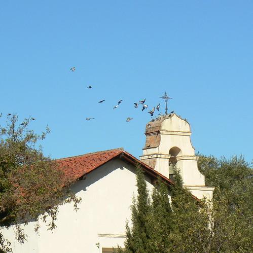 Sky Watch at Mission San Juan Bautista
