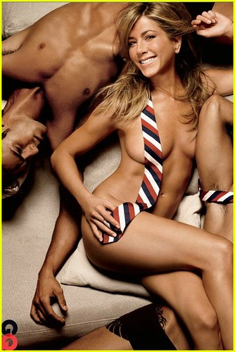 jennifer-aniston-necktie-nude-02 by popularwitch.