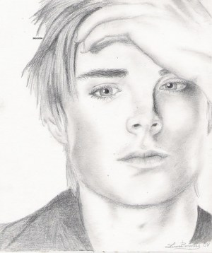 zac efron drawing rolling stones flickr